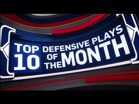 Top 10 Defensive Plays of the Month: March 2017