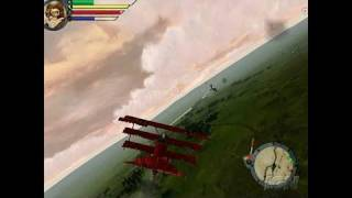 Red Baron Arcade PC Games Gameplay - Death from Above