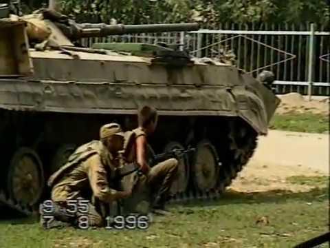 #2 из7. рф армия входит в село с боем. Чечня 7авг1996, сначала рассказ танкистов.