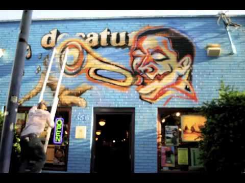 Corey Barksdale - Atlanta Georgia Mural Art - Decatur CD - Decatur Georgia