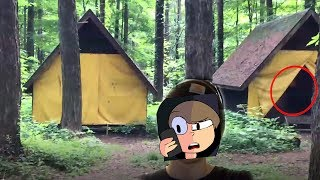 EXPLORING AN ABANDON GIRL SCOUT CAMP (We Found something creepy)