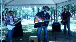 "The Shawn Conway Band ""Willie the Wandering Gypsy and Me"" (Willie Nelson) @ Front Porch Days 5/18/14"