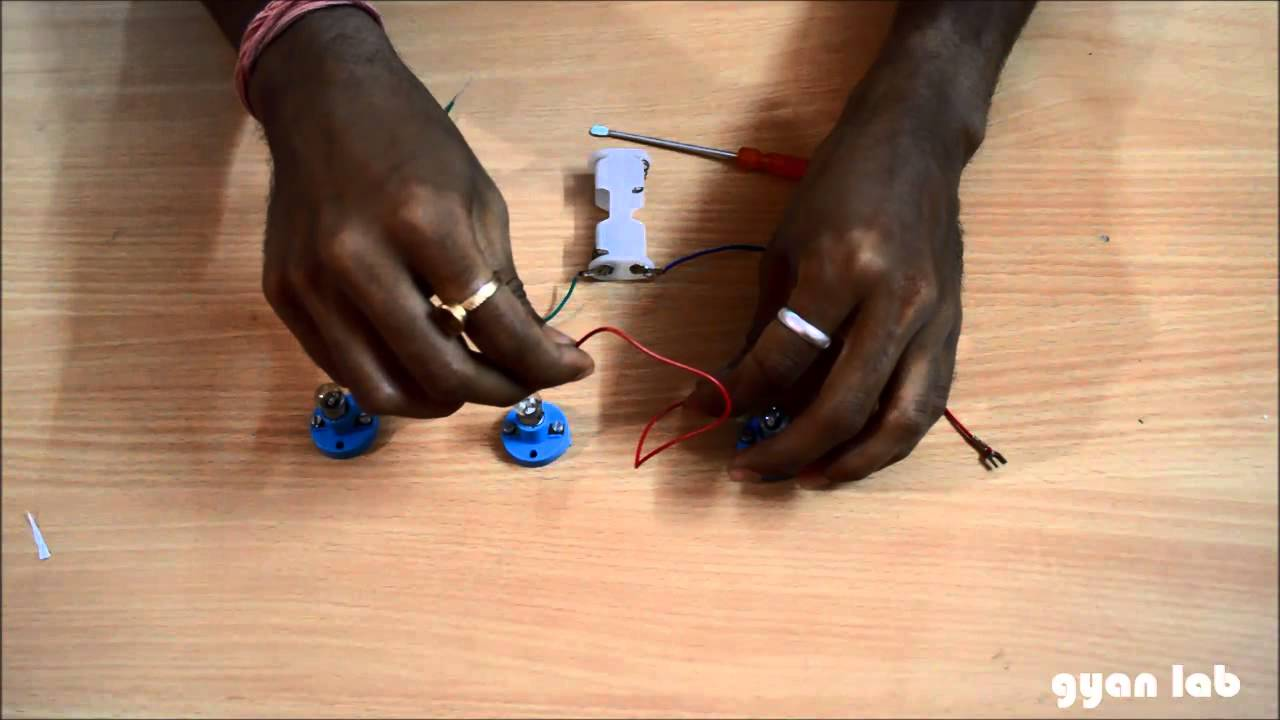 make a series electrical circuit electricity science gyanlab rh youtube com