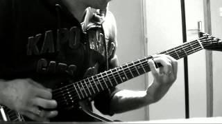 Amon Amarth - Doom Over Dead Man Guitar HD Cover - Gibson Explorer