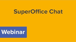Webinar SuperOffice Chat