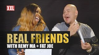 Fat Joe & Remy Ma Test Their Friendship - Real Friends