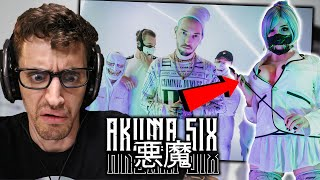 "My FIRST TIME Hearing TRAP METAL - AKUMA SIX - ""KATANA"" | (REACTION)"