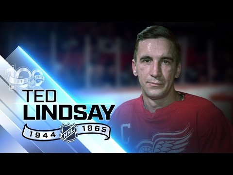 Terrible Ted' Lindsay took on all comers for Detroit