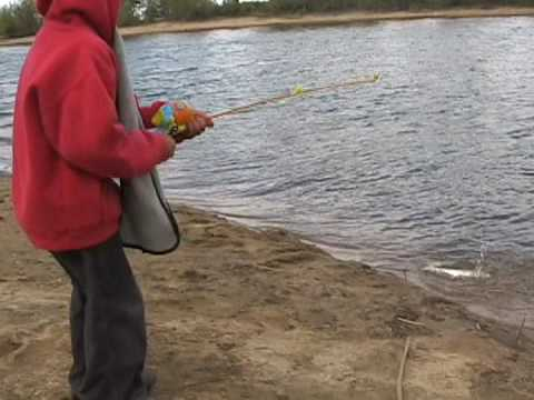 Fishing at lake skinner youtube for Lake skinner fish report