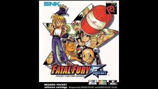 Fatal Fury First Contact (Neo Geo Pocket Color) Normal Mode Playthrough, 1 CC (No Matches Lost)