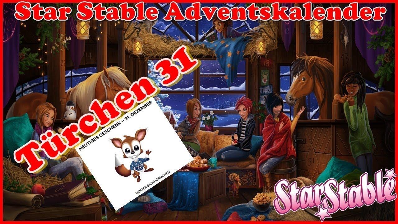 Adventskalender 31 Türchen