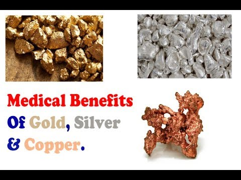 Medical Benefits of Drinking Gold , Silver & Copper Water