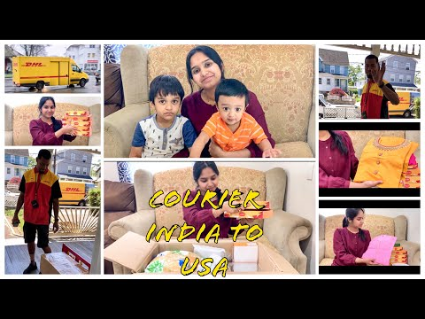 Courier From India To USA ||Parcel From India To USA || NRI Vlog