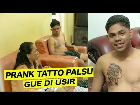 PRANK TATTO PALSU KE KELUARGA GUE HAMPIR DI USIR - PRANK INDONESIA