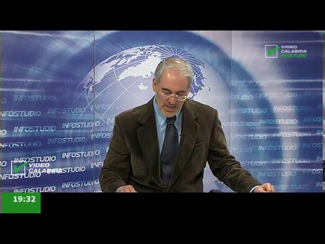 InfoStudio il telegiornale della Calabria notizie e approfondimenti - 31 Dicembre ore 19.15