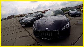 Amazing Maserati Cars Collection on Motor Shows in Kiev, Ukraine 2018. Luxury Cars Show