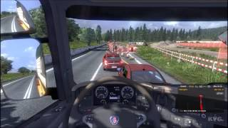 Euro Truck Simulator 2 - Going East! - Warszawa to Banská Bystrica Gameplay [HD]