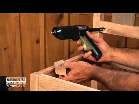 Woodworking Tips & Techniques: Joinery – Easy Installation of Corner Blocks