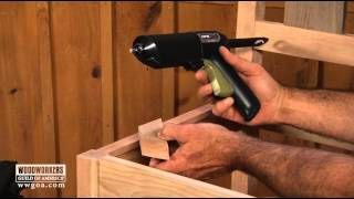 Woodworking Tips & Techniques: Joinery - Easy Installation Of Corner Blocks