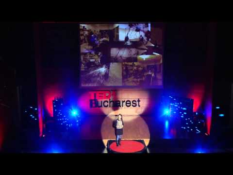 Developing expressivity through technology | Ioana Calen | TEDxBucharest