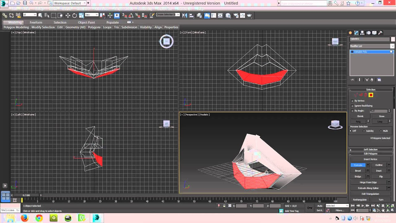 Modelar boca humana en 3d max youtube for Modelar habitacion 3d max