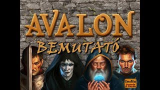 Avalon - társasjáték bemutató