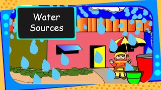 Science - Sources of Water - English