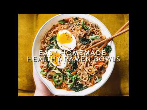 5 Homemade Ramen Bowls Under 500 Calories