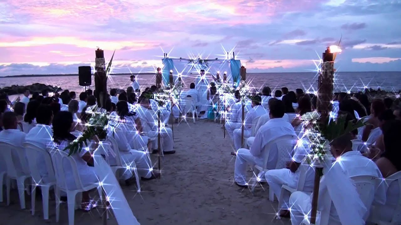 Matrimonio Simbolico En La Playa : Intro matrimonio playa brisa y mar youtube