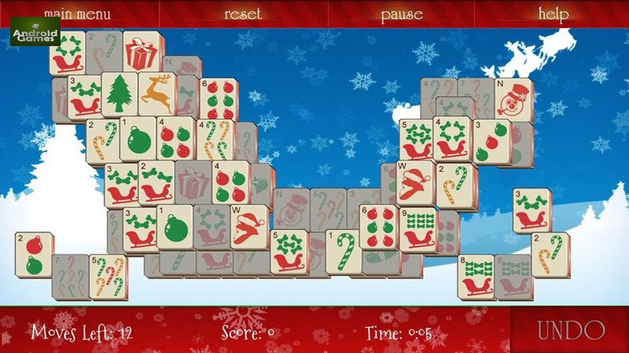 Mahjong Christmas.Mahjong Christmas Preview Hd 720p