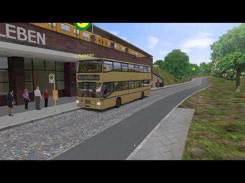 OMSI 2 | Berlin-Spandau Line 5 | U Ruhleben - Nervenklinik | MAN SD202