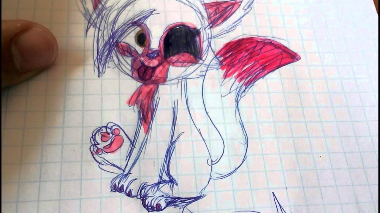 рисунки фнаф карандашом картинки