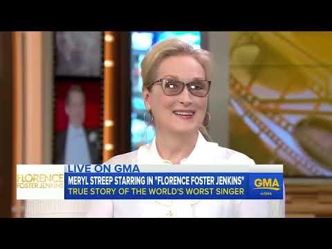 Meryl Streep Talks 'Florence Foster Jenkins'