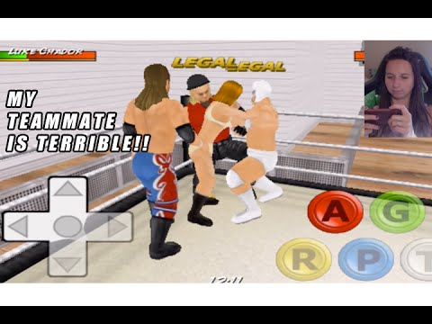 MY TEAMMATE STINKS!! WRESTLING REVOLUTION 3D #3
