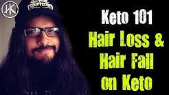 Hair Fall & Hair Loss On The Keto Diet | Keto 101 | Keto Basics