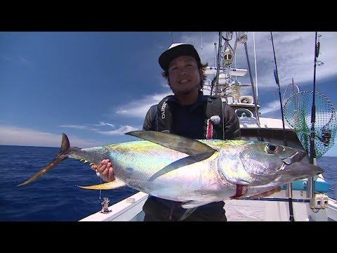 【釣り百景】#200 大型キハダ捕獲!久米島遠征2日間の記録