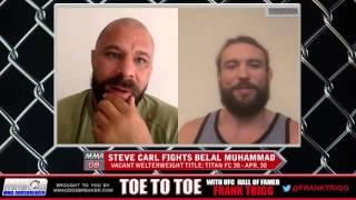 Titan FC 38's Steve Carl: 'Belal Muhammad really lacks a killer instinct'