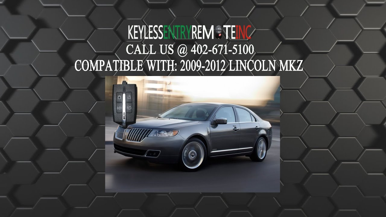 How To Replace Lincoln Mkz Key Fob Battery 2009 2010 2011 2012