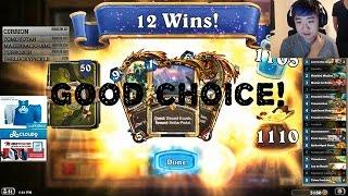 Strifecro's Token Midrange Paladin - Easy 12 wins Wild Heroic Brawl!