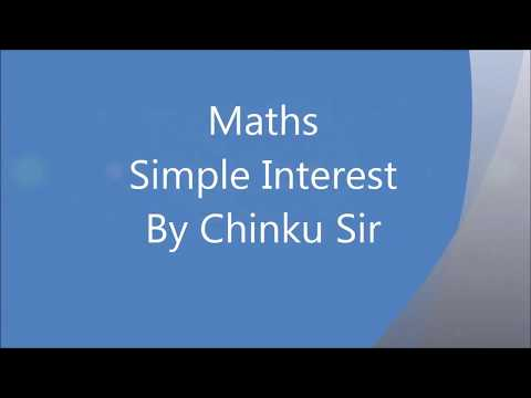 Learning Simple Interest in Hindi