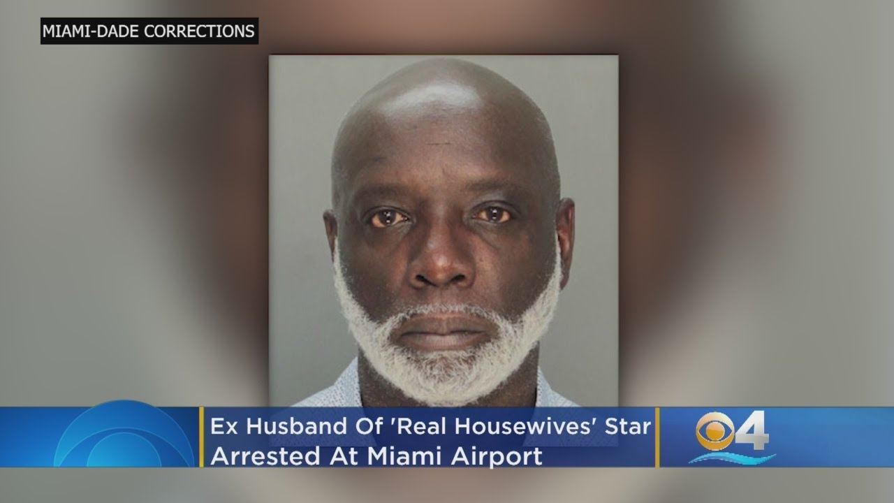 "Ex Husband Of ""Real Housewives"" Star Arrested In Miami"