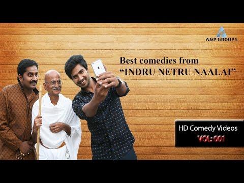 Indru Netru Naalai Tamil Movie | Full Comedy Scene | Vishnu Vishal | Mia George | Karunakaran