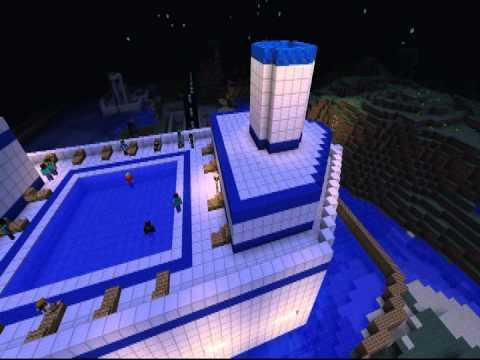Minecraft creazion nave da crociera ita demo youtube for Cabina interna su una nave da crociera