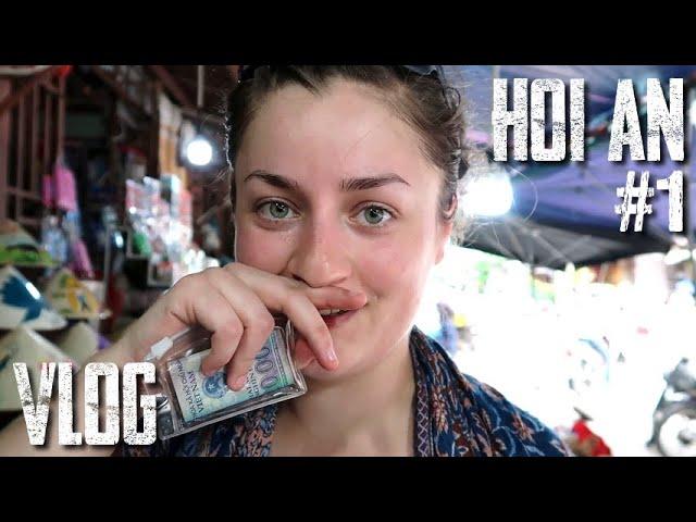Ballade dans le VIEUX QUARTIER ! - Vlog HOI AN #1 (en direct du Vietnam)