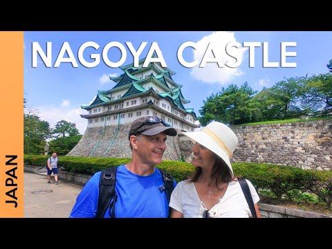 NAGOYA, JAPAN trip: Nagoya Castle and Meijo Park   Vlog 1