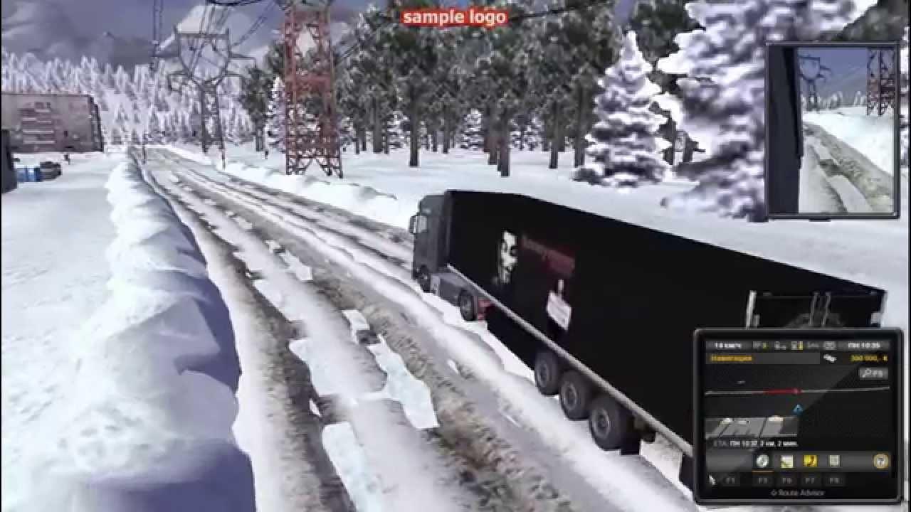 Euro truck simulator 2 моды зимы скачать