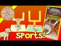 Valentine's Day Paper Activity Folded Sports Balls Classroom Cards