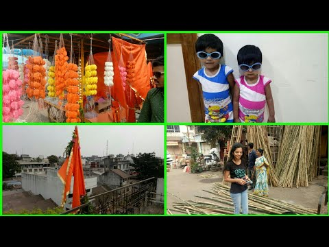 Maharashtrian FESTIVAL VLOG||GUDIPADAWA PREPARATION AND CELEBRATION VLOG2018