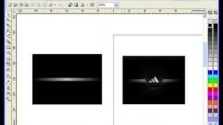 Лучшие Видеоуроки Corel DRAW X3. Урок № 40. Часть 1(За основу этого видеоурока возьмём фирменный стиль компании Adidas (файл в растровом формате) и повторим его..., 2009-06-25T06:50:09.000Z)