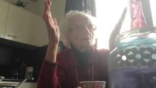 Koffie bij Antje Roerdink (101 jaar oud) op 7 mrt 2015